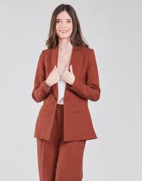 Ruhák Női Kabátok / Blézerek Naf Naf LINONOU V2 Terrakotta