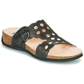 Cipők Női Papucsok Think MIZZI Fekete