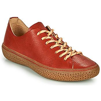 Cipők Női Rövid szárú edzőcipők Think TJUB Piros