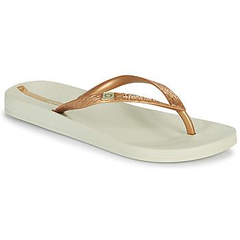 Cipők Női Lábujjközös papucsok Ipanema IPANEMA ANAT BRASILIDADE FEM Bézs / Arany