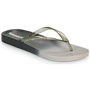 Cipők Női Lábujjközös papucsok Ipanema IPANEMA COLORFUL FEM Szürke / Fekete