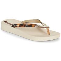 Cipők Női Lábujjközös papucsok Ipanema IPANEMA ELEGANCE FEM Bézs / Arany