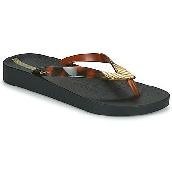 Cipők Női Lábujjközös papucsok Ipanema IPANEMA ELEGANCE FEM Fekete  / Arany