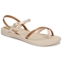 Cipők Női Szandálok / Saruk Ipanema Ipanema Fashion Sandal VIII Fem Bézs / Arany