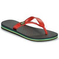 Cipők Gyerek Lábujjközös papucsok Ipanema IPANEMA CLAS BRASIL II KIDS Fekete  / Piros