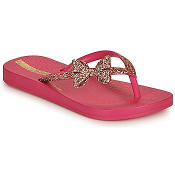 Cipők Gyerek Lábujjközös papucsok Ipanema IPANEMA ANAT LOLITA KIDS Rózsaszín