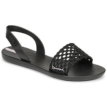 Cipők Női Szandálok / Saruk Ipanema IPANEMA BREEZY SANDAL FEM Fekete