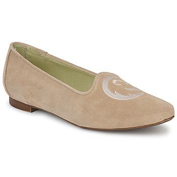 Cipők Női Mokkaszínek Stephane Gontard CALK Bézs