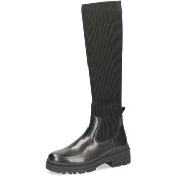 Cipők Női Városi csizmák Caprice Boots Low Heels Black Black