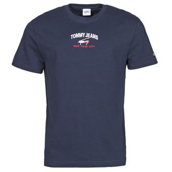 Ruhák Férfi Rövid ujjú pólók Tommy Jeans TJM TIMELESS TOMMY SCRIPT TEE Tengerész