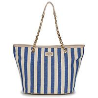 Táskák Női Bevásárló szatyrok / Bevásárló táskák Liu Jo SICURA XL TOTE Bézs / Kék