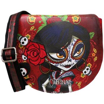 Táskák Női Válltáskák Catrinas BD-20-CT Rojo