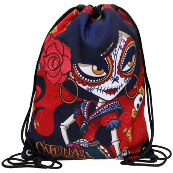 Táskák Női Hátitáskák Catrinas MC-23-CT Rojo