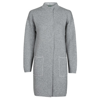 Ruhák Női Kabátok Benetton 1132E9071-507 Szürke