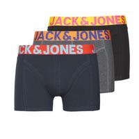 Fehérnemű Férfi Boxerek Jack & Jones JACCRAZY X3 Fekete  / Kék / Szürke