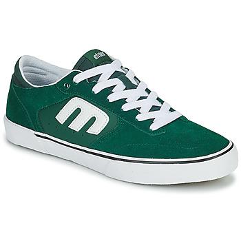 Cipők Férfi Rövid szárú edzőcipők Etnies WINDROW VULC Zöld / Fehér