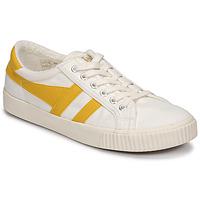 Cipők Női Rövid szárú edzőcipők Gola TENNIS MARK COX Bézs / Citromsárga
