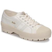 Cipők Női Rövid szárú edzőcipők Gola COASTER PEAK Ekrü