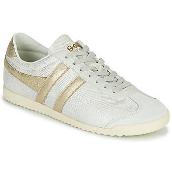 Cipők Női Rövid szárú edzőcipők Gola BULLET LIZARD Bézs / Arany