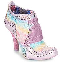 Cipők Női Bokacsizmák Irregular Choice ABIGAIL'S THIRD PARTY Rózsaszín / Lila