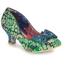 Cipők Női Félcipők Irregular Choice DAZZLE RAZZLE Zöld / Kék