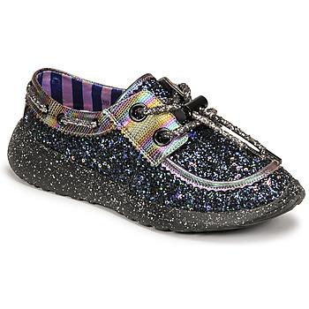 Cipők Női Rövid szárú edzőcipők Irregular Choice SKYLAR Fekete