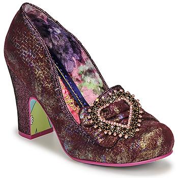 Cipők Női Félcipők Irregular Choice LE GRAND AMOUR Rózsaszín