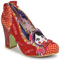 Cipők Női Félcipők Irregular Choice MATRYOSHKA MEMORIES Piros
