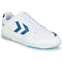 Cipők Férfi Rövid szárú edzőcipők Hummel POWER PLAY Fehér / Kék