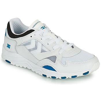 Cipők Férfi Rövid szárú edzőcipők Hummel EDMONTON 3S LEATHER Kék