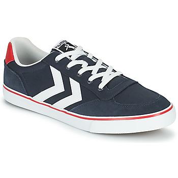 Cipők Férfi Rövid szárú edzőcipők Hummel STADIL LOW OGC 3.0 Kék