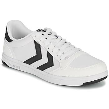 Cipők Férfi Rövid szárú edzőcipők Hummel STADIL LIGHT CANVAS Fehér