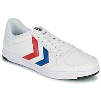 Cipők Férfi Rövid szárú edzőcipők Hummel STADIL LIGHT Fehér / Kék / Piros