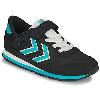 Cipők Gyerek Rövid szárú edzőcipők Hummel REFLEX JR Fekete