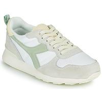 Cipők Női Rövid szárú edzőcipők Diadora CAMARO ICONA WN Fehér / Zöld
