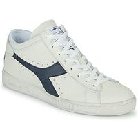 Cipők Magas szárú edzőcipők Diadora GAME L WAXED ROW CUT Fehér