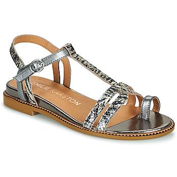 Cipők Női Szandálok / Saruk Karston SOREN Ezüst