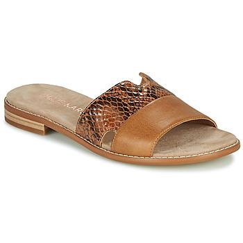 Cipők Női Papucsok Karston XAPLINA Barna