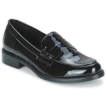Cipők Női Mokkaszínek Betty London MAGLIT Fekete