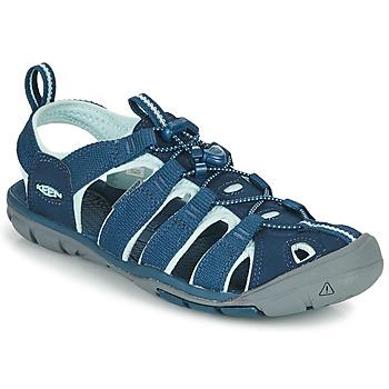 Cipők Női Sportszandálok Keen CLEARWATER CNX Kék