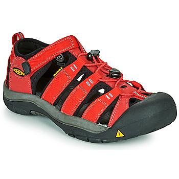 Cipők Gyerek Sportszandálok Keen NEWPORT H2 Piros