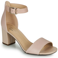 Cipők Női Félcipők Clarks DEVA MAE Rózsaszín