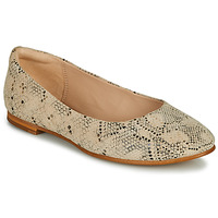 Cipők Női Balerina cipők  Clarks GRACE PIPER Bézs / Piton