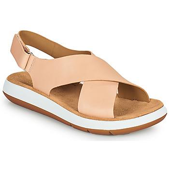Cipők Női Szandálok / Saruk Clarks JEMSA CROSS Bőrszínű