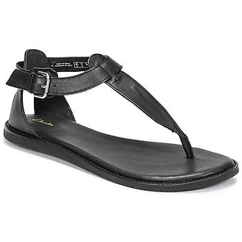 Cipők Női Szandálok / Saruk Clarks KARSEA POST Fekete