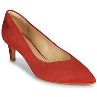 Cipők Női Félcipők Clarks LAINA55 COURT2 Piros