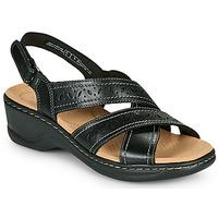 Cipők Női Szandálok / Saruk Clarks LEXI PEARL Fekete