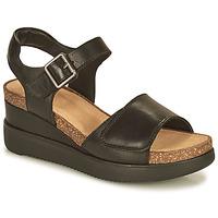 Cipők Női Szandálok / Saruk Clarks LIZBY STRAP Fekete