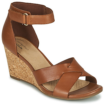 Cipők Női Szandálok / Saruk Clarks MARGEE GRACIE Barna