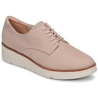 Cipők Női Oxford cipők Clarks SHAYLIN LACE Rózsaszín
